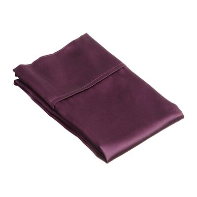 Superior Pillow Case Size: Standard, Color: Plum