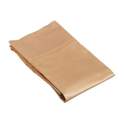 Klein Pillow Case Size: King, Color: Mocha