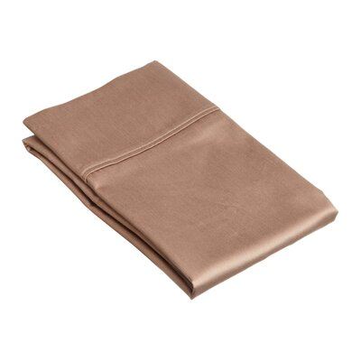 Superior Pillow Case Size: Standard, Color: Taupe