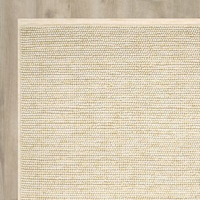 Avenue A Hand-Knotted Beige Area Rug