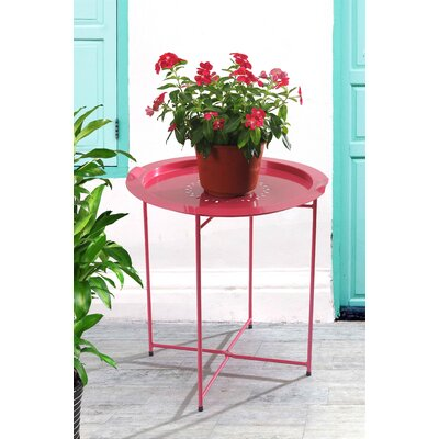 Sanmiguel Bistro Table Finish: Red