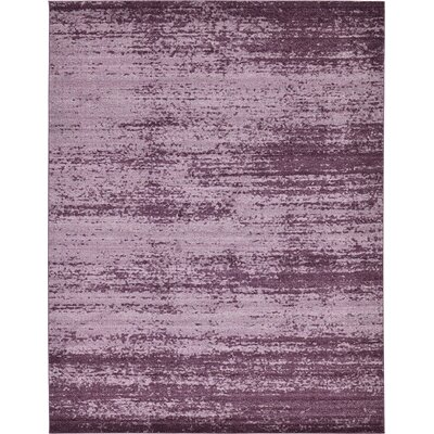Sanner Purple Area Rug Rug Size: 10 x 13