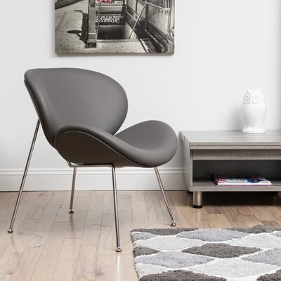 Alesia Lounge Chair Upholstery: Gray