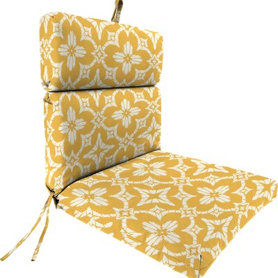 Outdoor Dining Chair Cushion Fabric: Aspidoras Soliel