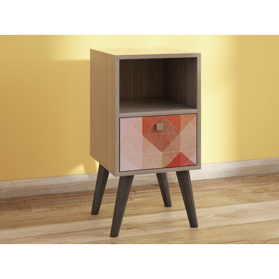 Benajah 1 Drawer Nightstand