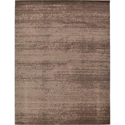 Saladino Brown Area Rug Rug Size: 10 x 13