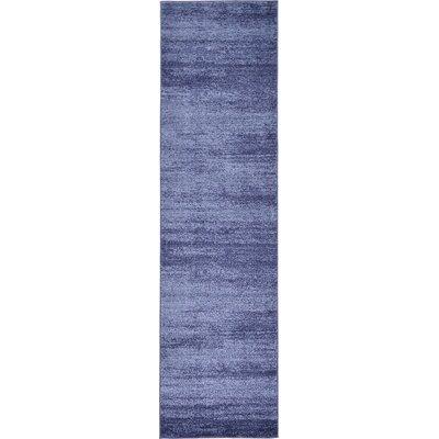 Wyble Blue Area Rug Rug Size: Runner 3 x 10