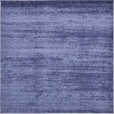 Saladino Blue Area Rug Rug Size: Square 8