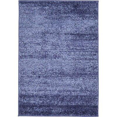 Saladino Blue Area Rug Rug Size: 2 x 3