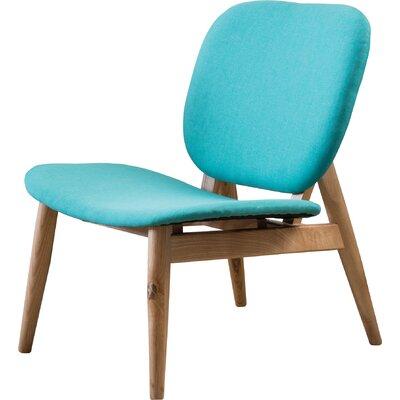 Saito Side Chair Color: Teal
