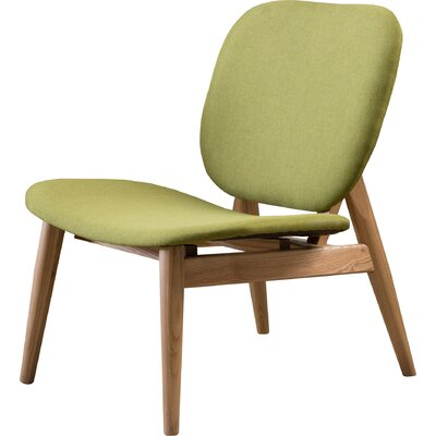 Saito Side Chair Upholstery: Green Apple