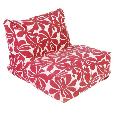 Monterey Bean Bag Lounger Upholstery: Red