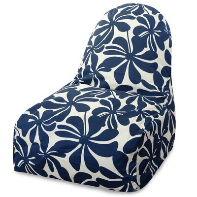Monterey Bean Bag Lounger Upholstery: Navy Blue