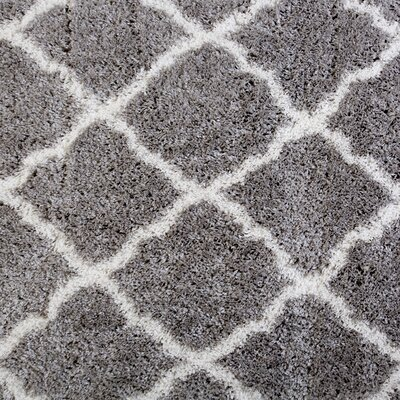 Salcedo Gray Area Rug Rug Size: 710 x 102