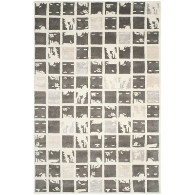 Jefferson Hand-Tufted Area Rug Rug Size: 6 x 9