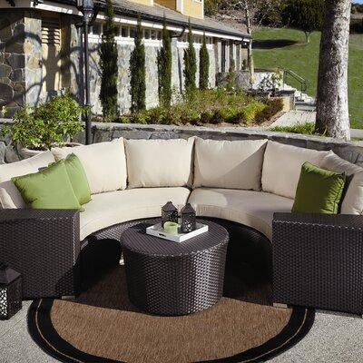 Aramingo 5 Piece Deep Seating Group with Cushions