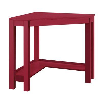 Oday Corner Desk Finish: Red