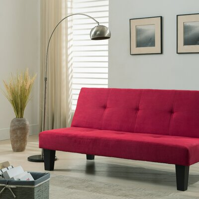 Swan Hill Sleeper Sofa Upholstery: Red