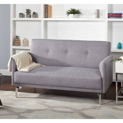 Ruzicka Standard Loveseat Finish: Gray