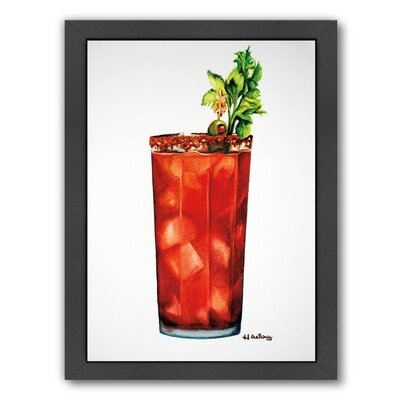 Bloody Mary Framed Painting Print