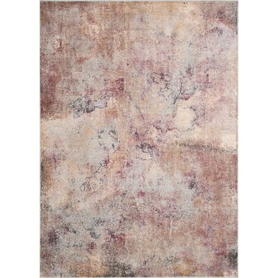 Stave Beige Area Rug Rug Size: Rectangle 67 x 92