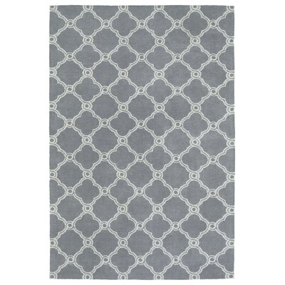 Sandstrom Gray Area Rug Rug Size: Rectangle 8 x 10