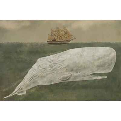 Far From Nantucket Graphic Art on Wrapped Canvas Size: 12