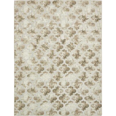 Sarmiento Cream Indoor/Outdoor Area Rug Rug Size: 9 x 12