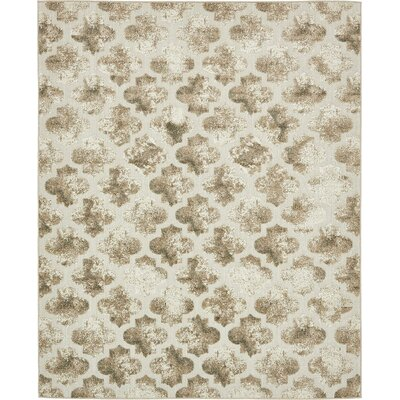 Sarmiento Cream Indoor/Outdoor Area Rug Rug Size: 8 x 10