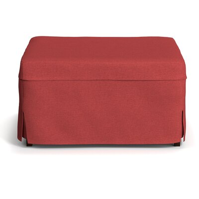 Sanroman Standard Folding Bed Color: Sunrise Red