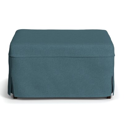 Standard Folding Bed with Mattress Color: Blue