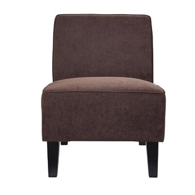 Santana Slipper Chair Color: Charcoal