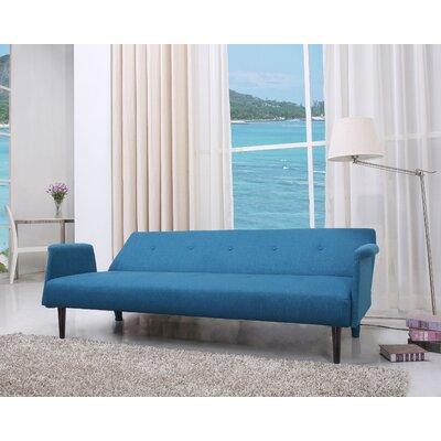 Charmayne Sleeper Sofa Upholstery: Blue