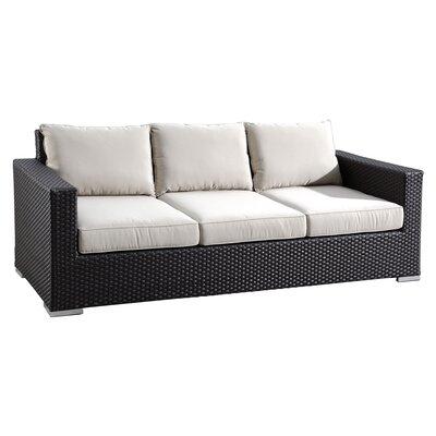 Aramingo Sofa with Cushion Fabric: Canvas Antique Beige