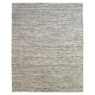 Sawin Dark Blue / Gray Area Rug Rug Size: 36 x 56