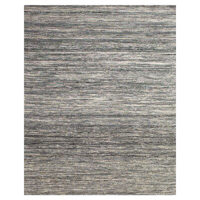 Santistevan Gray Area Rug Rug Size: Rectangle 36 x 56