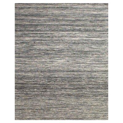 Santistevan Gray Area Rug Rug Size: 36 x 56