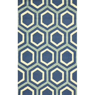 Santoyo Atlantic Indoor/Outdoor Area Rug Rug Size: 36 x 56