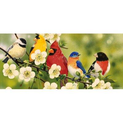 Sauceda Songbirds Sassafras Doormat