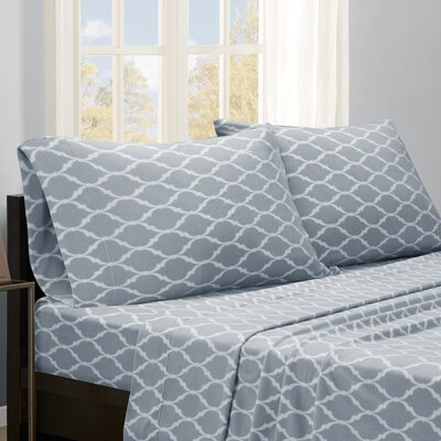 Saturn Sheet Set Size: Queen, Color: Gray