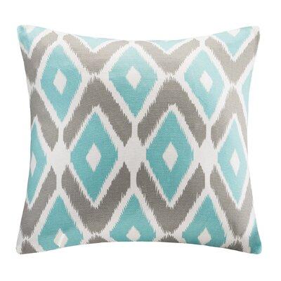 Boyer Diamond Printed Square Throw Pillow