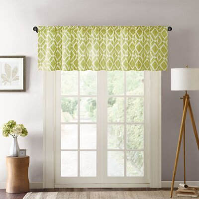 Lippert Print Light-Filtering Curtain Valance