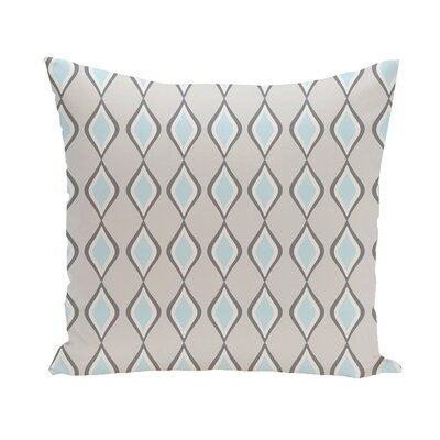 Carnell Throw Pillow Size: 18 H x 18 W, Color: Paloma/Steel/Omar