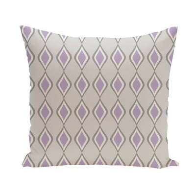 Carnell Throw Pillow Size: 20 H x 20 W, Color: Paloma/Classic Gray/Lilac