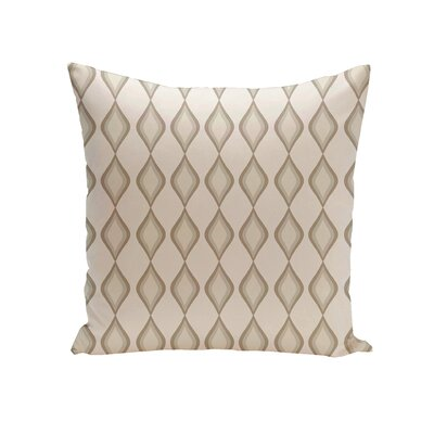 Carnell Throw Pillow Size: 18 H x 18 W, Color: Ivory/Jade/Ocean/Aqua