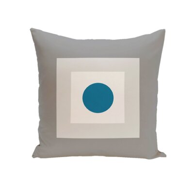Carnell Decorative Throw Pillow Size: 18 H x 18 W, Color: Classic / Peacock