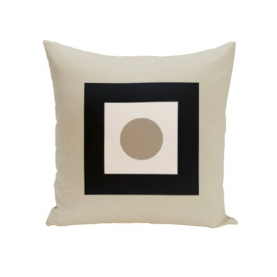 Carnell Throw Pillow Size: 26 H x 26 W, Color: Oatmeal / Flax
