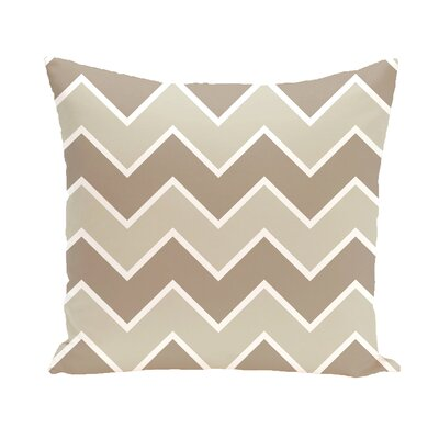 Segal Chervon Throw Pillow Size: 18 H x 18 W, Color: Gray / Gray