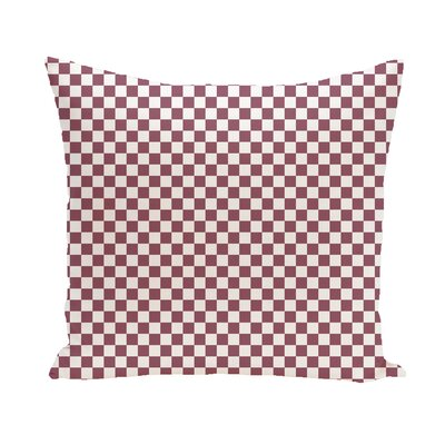 Sharrow Geometric Throw Pillow Size: 16 H x 16 W, Color: Purple / Light Gray