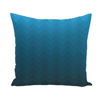 Segal Throw Pillow Color: Teal, Size: 18 H x 18 W